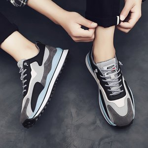 2021 Cross-Border New Arrival Spring Retro Mens Shoes Casual Fashion Sneakers Daily Simple Running Shoes