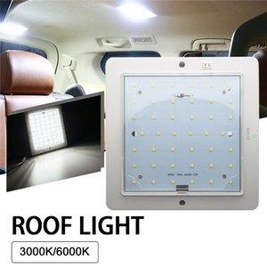 Parts 12V Car LED Roof Light Warm Cold White Lighting Interior Ceiling Lamp Ultra-Thin Headlight For Caravan Motor Home RV Boat