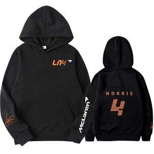Sweatshirts Hoodies Autumn Winter Formula One Racer Lando Norris F1 Mclaren Team Racing Fans Hoodie Men women Oversized Tmh5