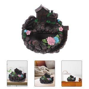 Planters & Pots Gardening Succulent Planter Resin Flowerpot Creative Bonsai Pot Home Decor