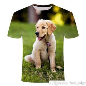 2020 3D printed pet dog T-shirts Labrador retriever large size L T-shirt XXS-6XLsoccer jersey