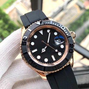 럭셔리 패션 시계 망 기계식 시계 2813 GMT Montre de Luxe 블랙 베젤 자동 운동 스포츠 남자 디자이너 손목 시계