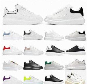 2021 مصمم أبيض أسود حذاء عالي الجودة الكلاسيكية الجلد المدبوغ المخملية جلد الرجال إمرأة الشقق منصة المتضخم أحذية رياضة espadrille أحذية رياضية مسطحة 36-45