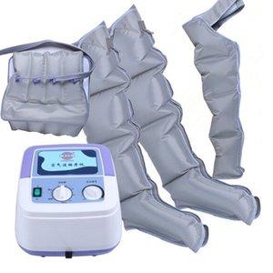 Воздушный компрессионный массажер Ручной контроллер Кровяной циркуляционный насос Wrap Набор для Двойной руки Нога Манжета Талия Ослабьте массаж