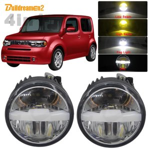 Other Lighting System 30W Car LED Bulb Fog Light Headlight High Low Beam DRL With Harness Wire Three Color 12V For Cube Z12 Hatchback