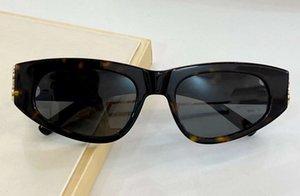 Havana verde cateye óculos de sol 0095 Gafas de sol mulheres moda sol óculos UV400 Proteção Óculos com caixa