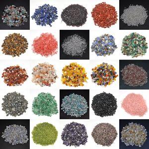 50G / 100G Природные кристаллы гравийные образцы свалки упавших камней камни и минералы целебные сырые драгоценные камни украшения аквариума