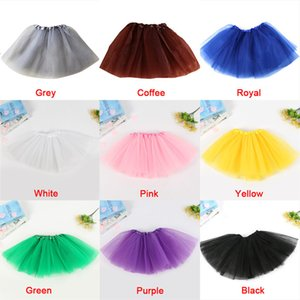 1 Skirt Fashion 3 Layer Adult Tutu Skirt Costume Petticoat For Dance Halloween Party Fancy Pretty Elastic Stretchy Tulle Teen
