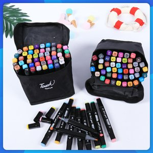 Painting Pens Double headed marker set student painting set ART HAND PAINTED animation Brush Year gift