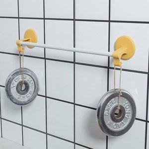 Towel Racks Self Adhesive Bar No Drill Rack Hand Hanger Bath Wall Shelf Stick For Bathroom And Bedroom Kitchen
