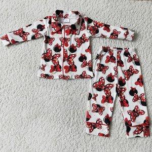 Дети бутик одежда мальчики пижамы наборы малыша ребёнок дизайнер одежда девушки спать мода братский пижамный набор милый ребенок мальчик новая одежда с длинным рукавом