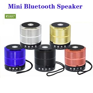 Wireless Bluetooth Speaker Mini Portable Speakers Plug-in Card Double Horn Car Handsfree Receive Call Music Suction for PC Phone Ipad player