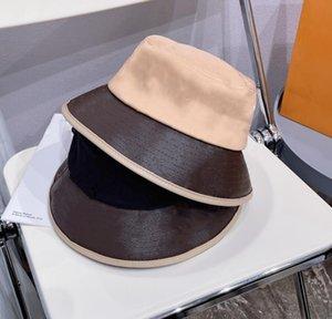 21 الأزياء دلو قبعة للرجال امرأة الكرة قبعات قبعة casquettes 4 موسم صياد كاب جودة عالية بخيل ستيكي بريم القبعات