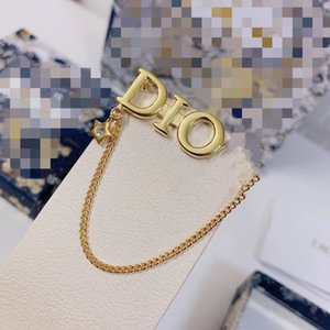 02CO 70%OFF 02CO D home   Dijia 2021 new CD letter fashion simple Brooch women's net red high qua