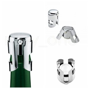 Portable Stainless Steel Wine Stopper Bar Tools Champagne Cork Sealing Machine Sparkling Wine Cap sea shipping RRB5980