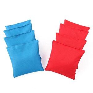 Sand Bag 8PCS 10x10cm Cornhole Bean Bags Set Corn Filled Cloth Training Equipment For Outdoors Hole Throwing Game