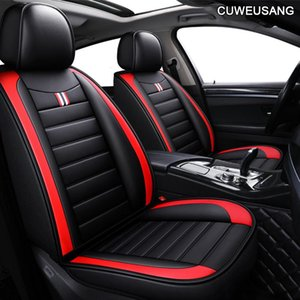 Leather Car Seat Covers For Mitsubishi Asx Montero Outlander 3 Xl Pajero 2 4 Full Sport Colt Of 2021