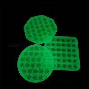 2021 Luminous Kids Toy It Figet Toys Stress Reliever Toy Push Pop Bubble Simple Dimple Fidget Toys