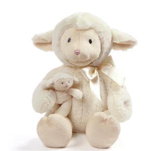 Peluş Bebekler Sevimli Küçük Koyun Kızın Kalp Kelepçesi Makinesi