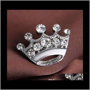 Broches broches sier couleur cristal petit cristal petite broche broche très mignonne alliage femme collier mariage bijoux bijoux accessoires cadeau mnpca