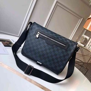 Desk Lamps best quality classic canvas leather women belt bag Genuine Leather hand real men backpack message N40010 29.5..20..10