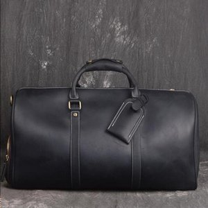 Q8ZF Top Quality Hommes Grand sac 50 Key 55cm Duffle Main Bagages Sacs à main Travel Cross avec Totes Suitcase Corps de corps Cuir Duffel G uidtn