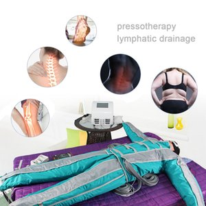 24 chambers Air Wave Pressure Compression body shape Massager 3 in1 far infrared Lymphatic drainage Detoxification Slimming Machine Pressotherapy Device