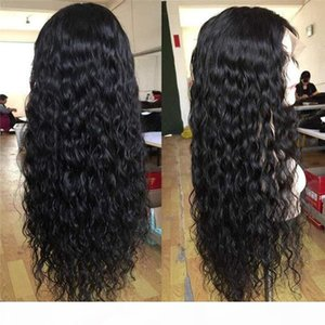 2021 new popular style European and American wig lady lace chemical fiber long curly hair daily temperament wig headset spot wholesale