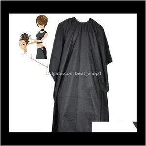 Otros Hogar Sundries Home Garden Drop Entrega 2021 Peluquería Corte Salón Vestido de peluquero Cape Peluquería Peluquería abotonada Impermeable Ha