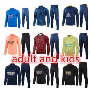 2021 Futebol Tracksuit Kit Men Training Suit Theatsuits Survy Futebol Jacket