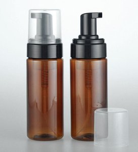 150ml Empty Amber Plastic Foaming Bottle Soap Dispenser Container 3OZ Foam-soap-Dispense Foam lotion Pump bottle