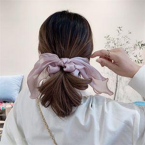 Grenadin-Scrunchies Hair Ring-Bänder Elastische Haarbanddesigner Pferdeschwanzhalter Ins Stretchy Girls Haarbänder Haarschmuck YHM 354 G2