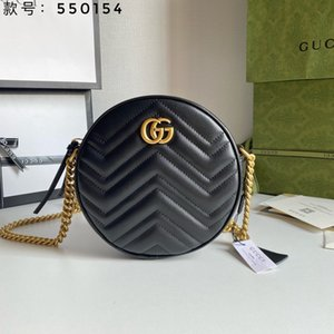 GUCCI Designer Totes Mini Hand Bags Chian Shoulder Bag 2020 New Women Leather Handbags Womens Small Round Bag Messenger Bags Purse Shoulder Bag