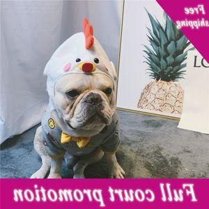 Pollo Tiara Perros Tocado Estilizador Video Creativo PET lindo Sombrero Ropa Suministros Para Perro Adornos De Pelo