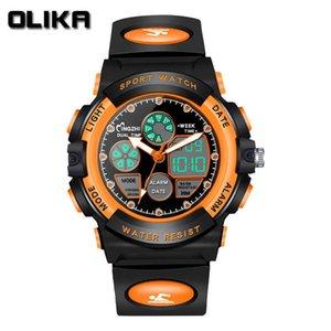 Luminous Wrist Gift es LED Electronic Children's Clock Child Watch Chronographe Reloj Sports 21ss Digital Kid's G22 992