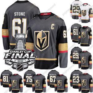 2021 Stanley Cup Final # 61 Mark Stone Jersey Vegas Golden Knights Marc-Andre Fleury Alex Pietrangelo Alex Tuch Ryan Reaves Max Pacioretty Alec Martinez Reilly Smith