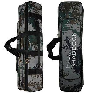 2Pcs 62CM 24.5-Inch Oxford Waterproof Fishing Rod Reel Bag Case Travel Organizer Tackle Tool Gear Storage Bag Case