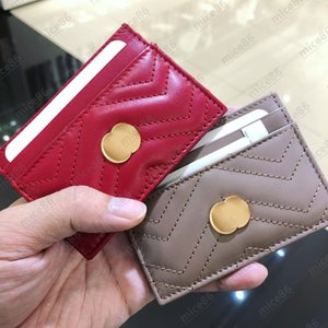 5A luxury Designer Origina G purse quality Card Holder Genuine Leather France style Y Womens men Purses Mens Key Ring Credit Coin Mini Wallet Bag Charm Brown Canvas