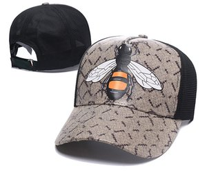 Classic top quality bucket hat snake tiger bee cat canvas featuring men baseball cap with box dust bag fashion women sun hats