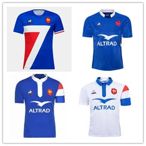20/21 France Super Rugby Jerseys 2021 Chemises Maillot de Foot Shirt Français