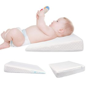 PUDCOCO Hot Newborn Baby Sleep Pillow Anti Baby Spit Milk Crib Cot Sleep Positioning Wedge Anti-Reflux Cushion Cotton Pad Mat 1255 Y2