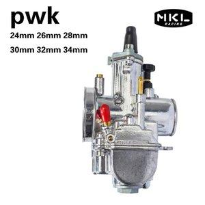 Engine Assembly PWK 24 26 28 30 32 34 MM Stroke Motorcycle Carburetor ATV Buggy Quad Go Kart Jet Dirt Bike Fit On Racing