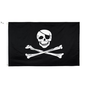 Creepy Ragged older jolly roger Skull Cross bones Pirate Flag Hotsale Freeshipping Direct Factory 100% Polyester 90*150cm 3x5fts OWD10424