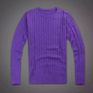 mens designer Winter Sweater small horse O-neck Casual Knit Jumpers Sweaters Long Pullovers Famous Brand Youth