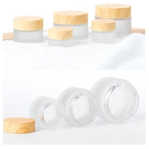 5g,10g,15g,30g,50g,100g Glass Bottle Round Cosmetic Glass Jars BPA Free Containers for Containers,Cosmetics,Eye Shadow,Makeup and Face cream Lotion