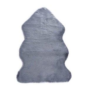 قابل للغسل لينة البساط الاصطناعي مع جلد الغنم الفراء الحصير تقليد الصوف سجادة للأطفال غرفة البساط لغرفة المعيشة كرسي مقعد غطاء 1306 v2