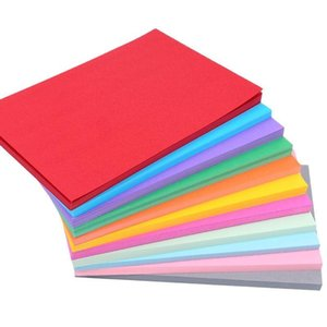 Other Arts And Crafts 10pc Cardstock A4 230gsm Coloful Cardboard Handmade DIY Painting Paper For Scrapbook Die Cutting Card Making Office St
