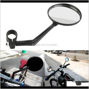 Baskets Rotatable Flexible Bicycle Handlebar Rearview Cycling Back View Mirror Light And Easy Install Bike Accessories Ny077 Nqipu H3M0J