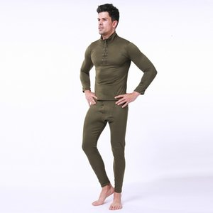 Men Tracksuit Thermal Underwear Mens Fleece Breathable Sweat Quick Drying Thermo Underwear Tactical Motion Clothes M-2XL