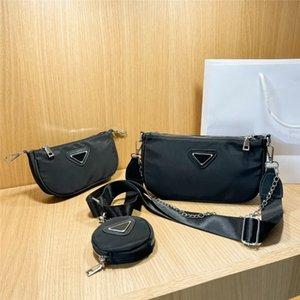 3 Set Shoulder Bag for Women Designer Composite Bags Purse With Chain Ladies Fashion Flap Top Quality Wallet Card Holder Crossbody handbag